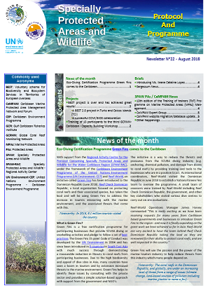 SPAW Newsletter N°22 Cover